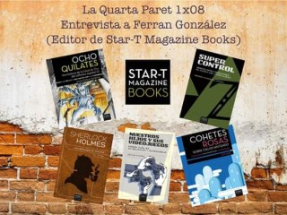Entrevista a Ferran González en 'La Quarta Paret' (Sants 3 Radio)