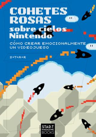 Cohetes rosas sobre cielos Nintendo