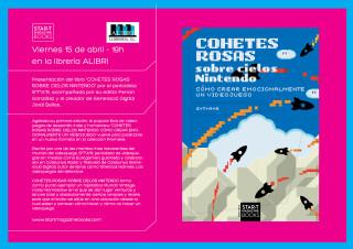 Presentación de la nueva edición de 'Cohetes rosas sobre cielos Nintendo'