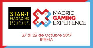 Nuestros libros en Madrid Gaming Experience 2017
