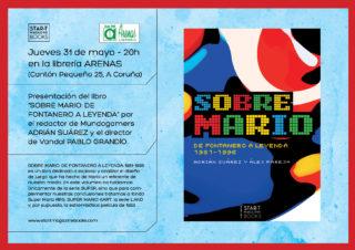 Presentación en A Coruña de «Sobre Mario» en Librería Arenas