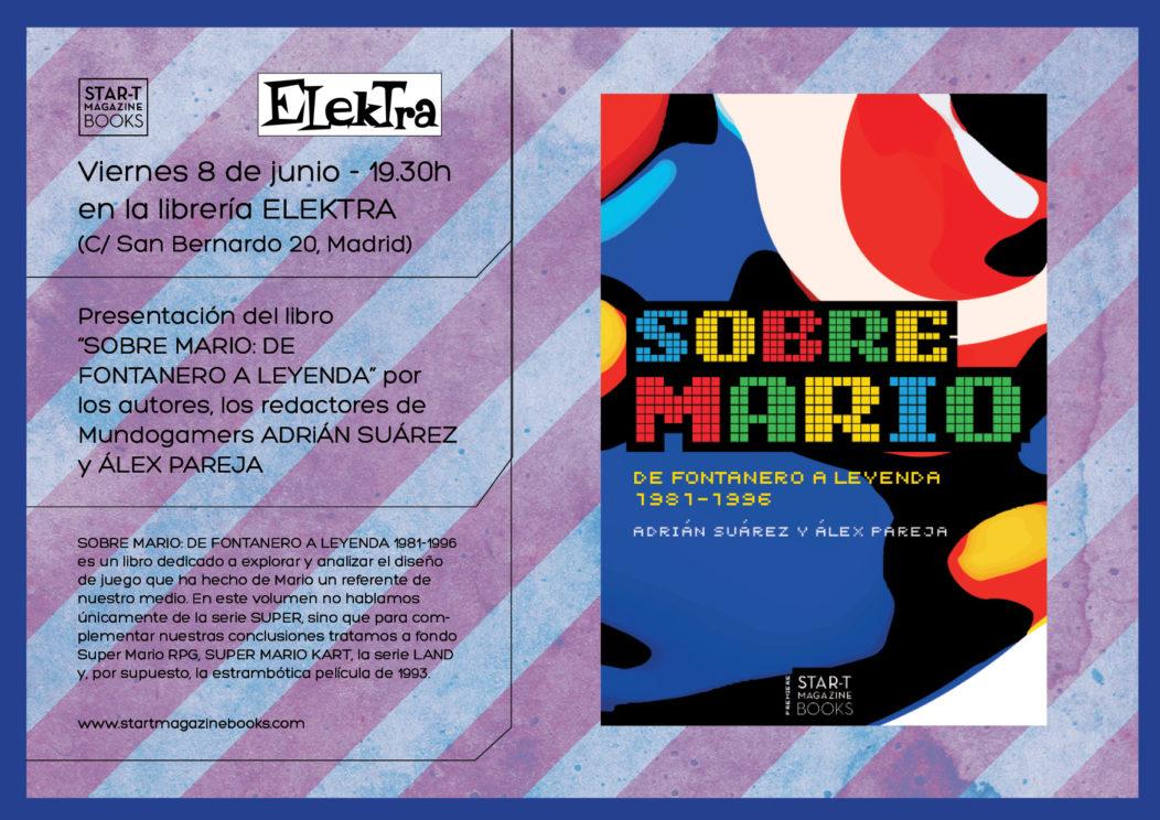 """Presentación en Madrid de """"Sobre Mario"""" en Elektra Comic"""