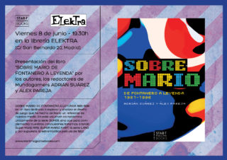 Presentación en Madrid de «Sobre Mario» en Elektra Comic