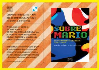 """Presentación de """"Sobre Mario"""" en Gigamesh"""