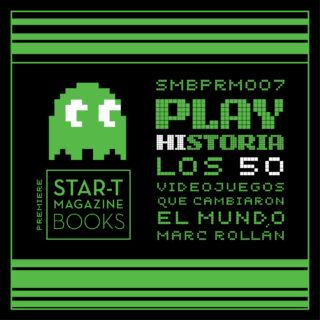 Nuevo libro en producción: 'PLAY HISTORIA: Los 50 videojuegos que cambiaron el mundo'