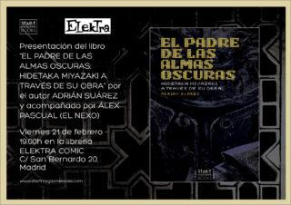 Presentación en Madrid de «El padre de las almas oscuras»